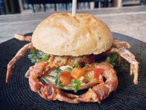 Chili Crab Burger | Iveau