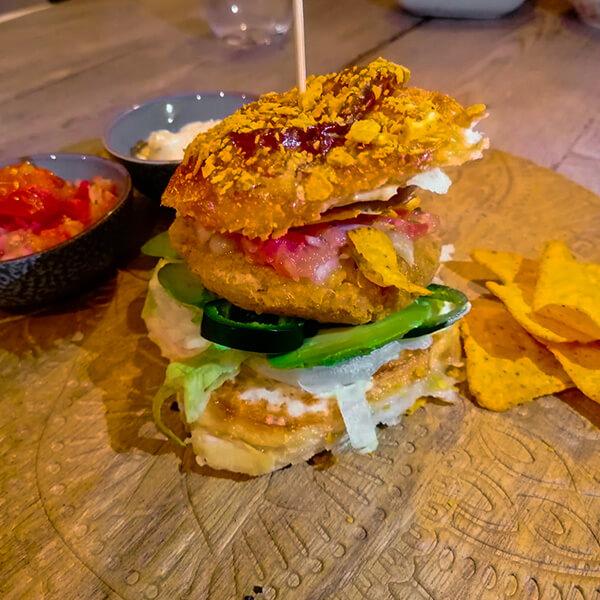 El vegetariano | Mexicaanse vega burger | Hamburger bijbel