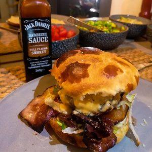 Sweet bbq burger | hamburgerbijbel